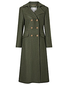 Monsoon Military Long Coat