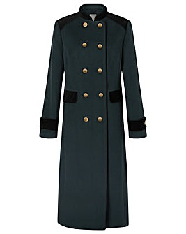 Monsoon Maddie Military Coat