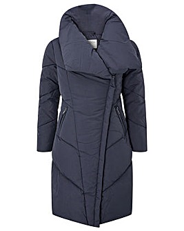 Monsoon Dhalia Long Padded Coat