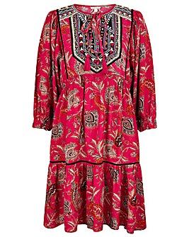 Monsoon Paisley Print Sustainable Dress