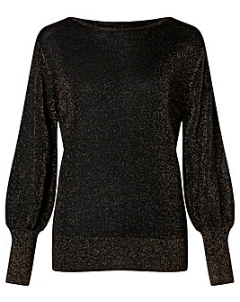 Monsoon Viscose Sparkle Jumper