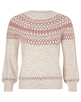 Monsoon Fairisle Knitted Jumper