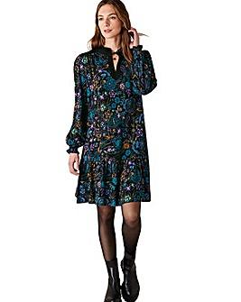 Monsoon Floral Print Short Dress