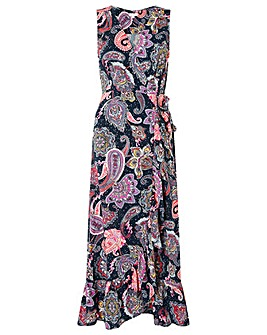 Monsoon Paisley Print Maxi Dress