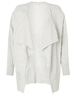 Monsoon Zip Side Waterfall Cardigan