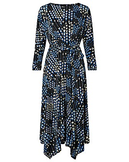Monsoon Angeline Arrow Print Dress