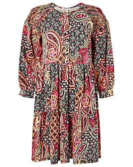 Monsoon HERITAGE PRINT SMOCK DRESS