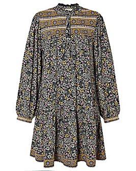 Monsoon Chrissie Print Short Dress