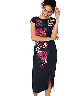 Monsoon Pippa Floral Print Shift Dress