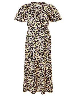 Monsoon Missie Floral Print Dress