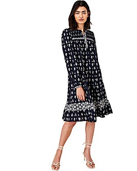 Monsoon HERITAGE PRINT SHORT DRESS