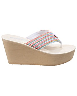 Rocket Dog Diver Groovy Stripe Sandals