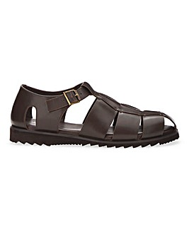 Lightweight Fisherman Sandal Wide Fit