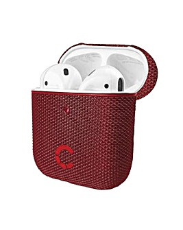 TekView Air Pods 1 & 2 case Red/Red