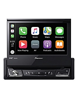 Pioneer AVH-Z7200DAB Car Stereo 7inch Multimedia, Apple Carplay, Android Auto