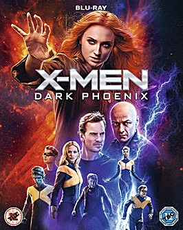 X Men Dark Phoenix Blu ray