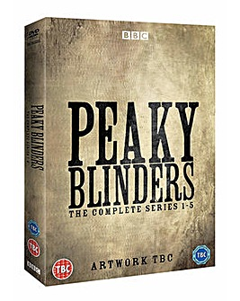 Peaky Blinders Series 1 to 5 DVD