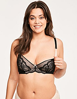 Juliette Lace Flexi Wire Nursing Bra