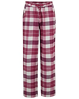 Pour Moi Lazy Days Cosy Check Trouser