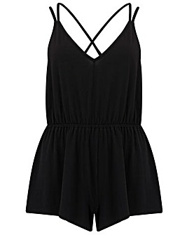 Pour Moi Sofa Love Double Strap Playsuit