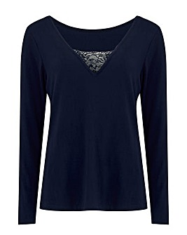 Pour Moi Lazy Days Secret Support LS Top