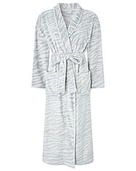 Monsoon Tegan Animal Print Long Robe