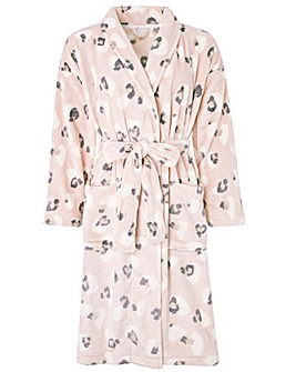 Monsoon Lilianna Animal Print Short Robe