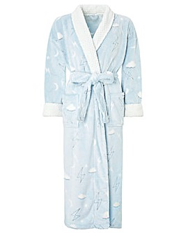 Monsoon Hadley Print Long Robe