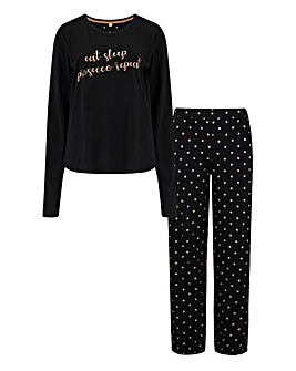 Pour Moi Jersey Cotton Pyjama Set