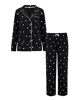 Pour Moi Jersey Cotton Floral Pyjama Set