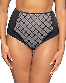 Scantilly Velvet Rose High Waist Brief