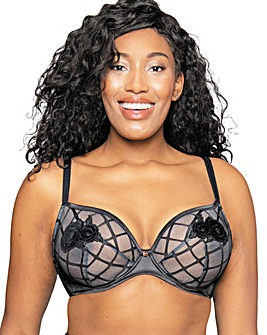 Scantilly Velvet Rose Plunge Bra