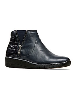 Van Dal Guthrie Zip Boots Wide E Fit
