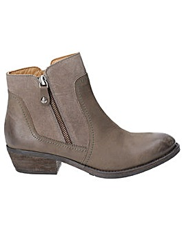 Hush Puppies Isla Zip Up Ankle Boot