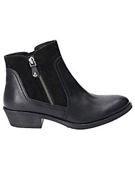 Hush Puppies Isla Zip Up Ankle Boot