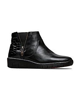 Van Dal Guthrie Zip Boots Wide E Fit