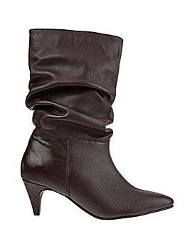 Monsoon Sal Slouch Suede Boot