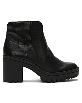 Fly London Tine Leather Ankle Boots