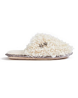 Pretty You London Beau Mule Slippers