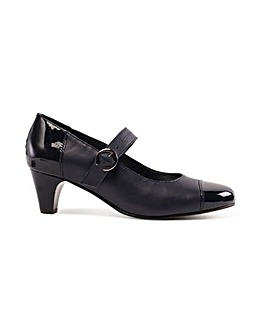 Padders Jean Leather Shoe Wide EE Fit