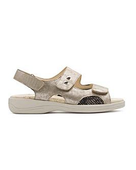Padders Gemstone Sandal 3E/4E Dual Fit
