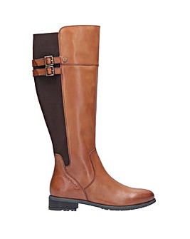 Hush Puppies Arla Long Zip Up Boot