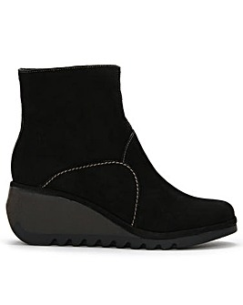 Fly London Nest Wedge Ankle Boots