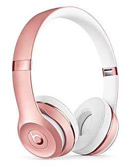 Beats Solo 3 Headphones Rose Gold