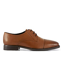 Lister Premium Leather Toe Cap Derby W