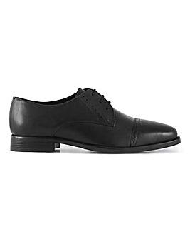 Lister Premium Leather Toe Cap Derby W