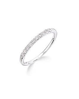 9K 0.25Ct Diamond Ring