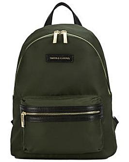 Smith & Canova Nylon Zip Around Backpack