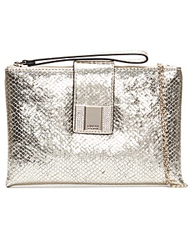 Guess Night Twist Reptile Cross-Body Bag