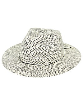 Monsoon Mona Marl Fedora Hat
